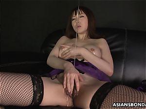 chinese wonderful underwear during the slimy masturbation