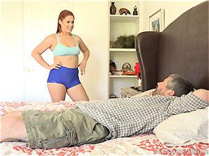 Edyn Blair ravaged By massive ebony spear husband watches