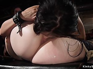 scorching babes and milf at bondage & discipline swingers party