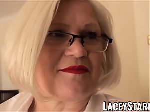 LACEYSTARR - obedient GILF ass inserted by Pascal milky