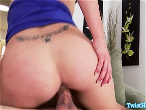 luxurious Anna Morna bj's a ride and wails