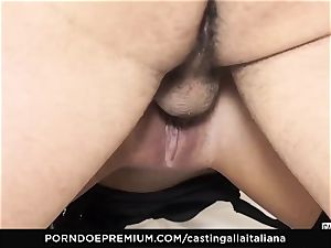 casting ALLA ITALIANA - insatiable hump with local first-timer