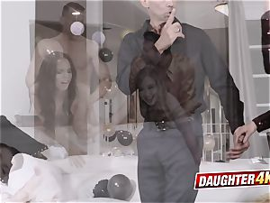 naughty daughters-in-law decide to engage in steamy fuckfest with their dads