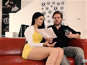 ExposedCasting - Skill-testing audition with Lovenia Lux