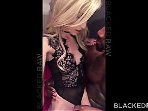 puny Piper Perri gets her little pussy stretched by her yam-sized ebony affair