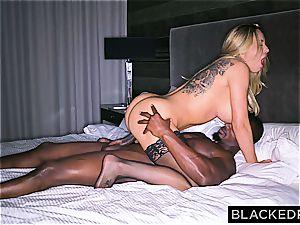 large boobed bimbo housewife gets slain by a giant ebony cumbot