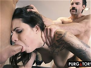 PURGATORY I let my wifey pound two studs in front of me