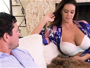 Alison Tyler seduces her buddies orb lovinТ stud