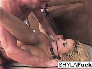 Shyla's rock-hard assfuck boink and a facial