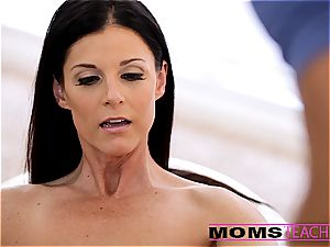 cum-swapping with Janice and mother India