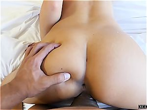 Persistent stepsister fellatios and humps her wild brutha