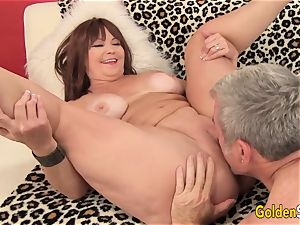 Mature Hoochie Isabelle enjoy Is drilled by a Goateed dude