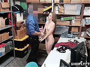 compelled to ravage a dick by the law's stiff hand