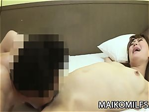 Hiroko Nagatomo - mischievous JAV wifey furry vulva Creampied
