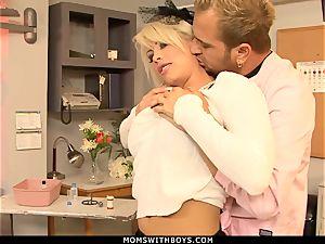 mummy Brooke Haven Flirts And plumbs The school Nurse
