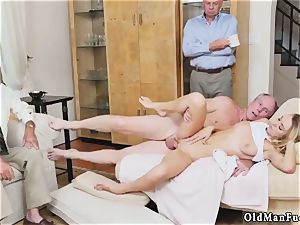 father care and breakfast handjob older fellow Molly Earns Her Keep
