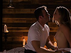 Mona Wales has a romantic love session with her handsome fellow