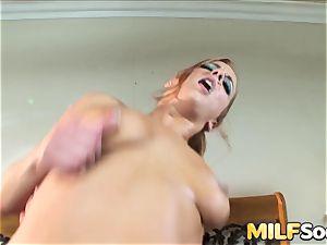 sticking cougar Gabriella Banks in the arse