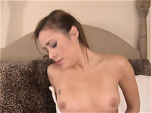 Marina Angel gets her way by fuckin' her luxurious stepfather