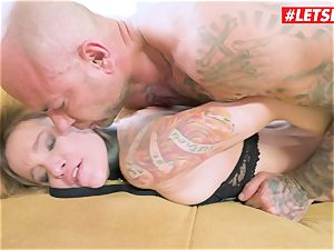 LETSDOEIT - Angel Piaff culo screwed By Mike To Her confine