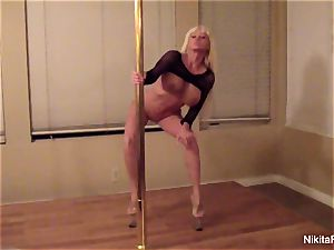 Nikita gives you a private softcore dance & a pov dt