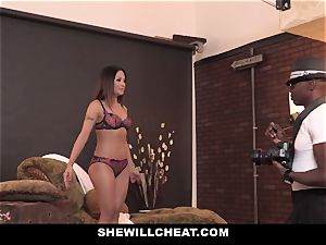 SheWillCheat - hot japanese wife railed By big black cock