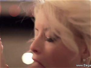 CFNM blow-job Perfection blondie