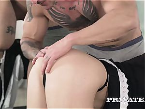 pointy donk Russian bi-atch Mary blows the man meat she chose for her tidy muff