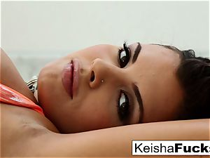 super hot Keisha Grey taunts and fucks