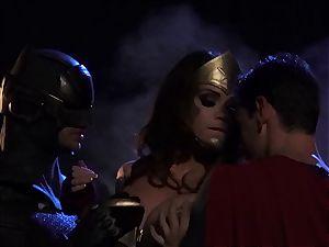 Alison Tyler nails two kinky superheroes