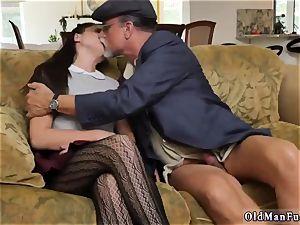daddy sexually abused me railing the senior knob!