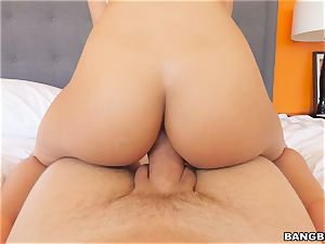 torrid rump Luna star riding penis