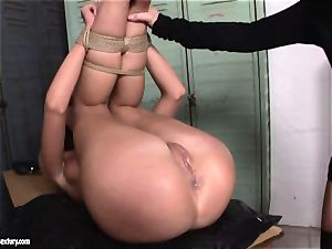 Kathia NObili enjoy doing strap on smash on a sizzling babe