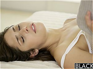 BLACKED style Model Anna Mornas first Time With A big black cock
