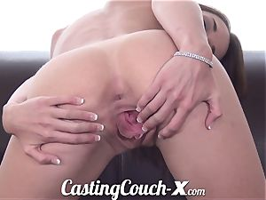 casting Couch-X Georgia peach thrilled to do pornography for $