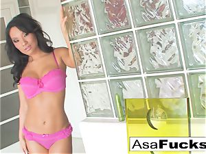 Here is a gorgeous arse solo of the stellar Asa Akira
