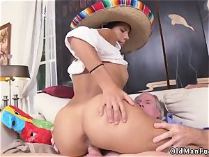 highly senior dude and boss s daughter-in-law pounds bashful nubile Going South Of The Border