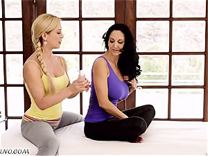 Ava Addams and Cherie Deville - thick orb cougar girly-girl