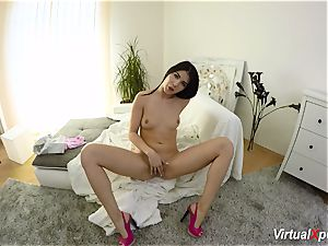 furry big-titted Angel Wicky on webcam