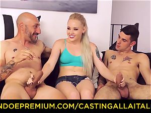 CASTNG ALLA ITALIANA - blondie vixen tough dp intercourse