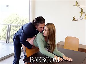 BAEB stunner Jill Kassidy plumbs for job in her interview