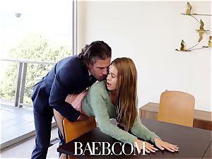 BAEB stunner Jill Kassidy plumbs for job in her interview