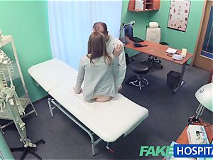 FakeHospital physician creampies wondrous tight twat
